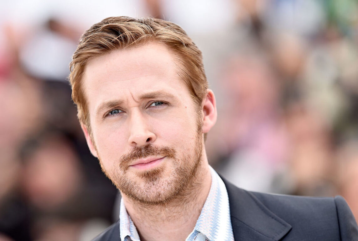 Photo of actor and musician Ryan Gosling at an event.