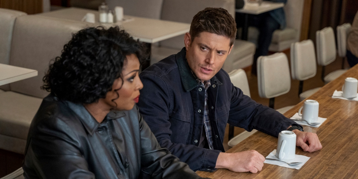 Dean and Billie discuss their plans for Chuck on Supernatural