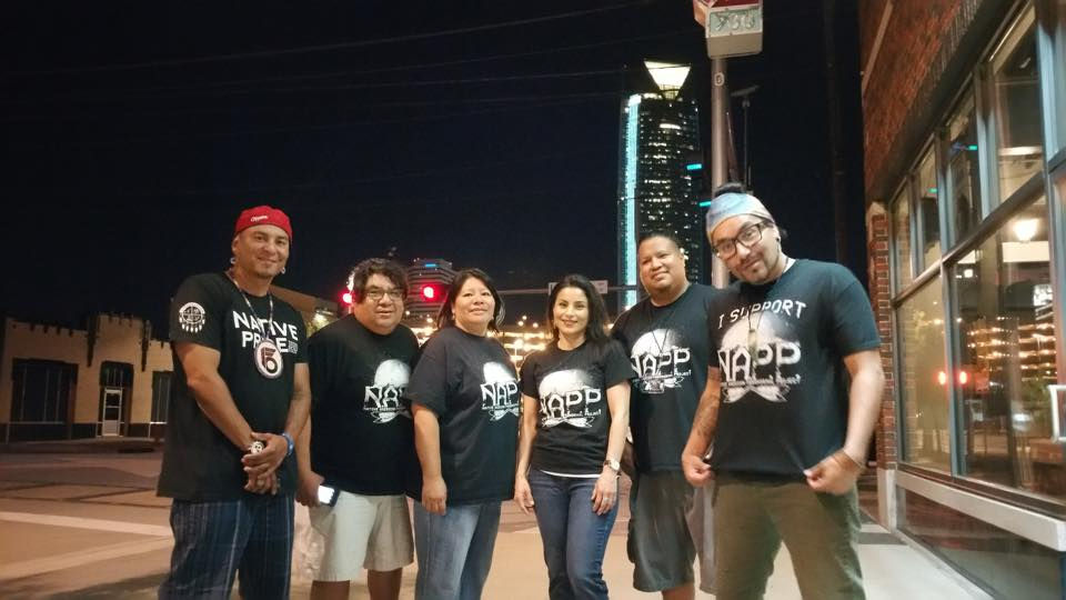 Native American Paranormal Project team at the OKC screening