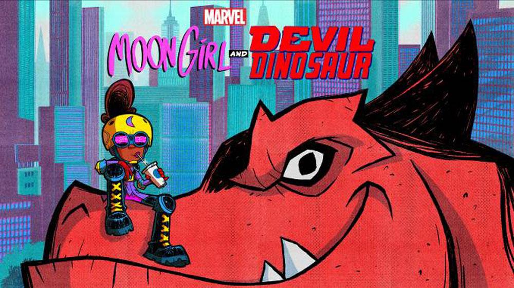 black women superheroes moon girl and devil dinosaur