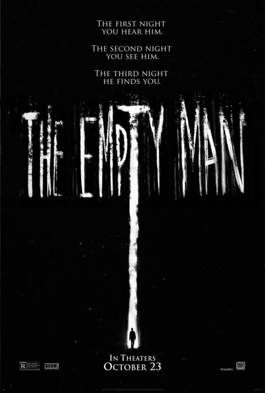 The Empty man movie poster.