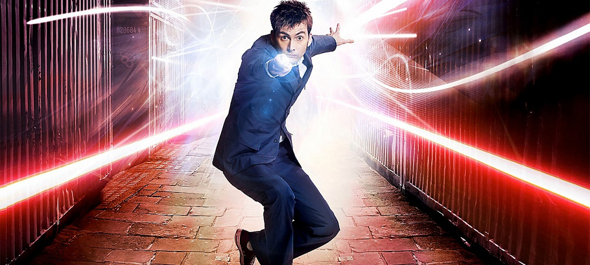 David Tennant in a promotional photo for Doctor Who.