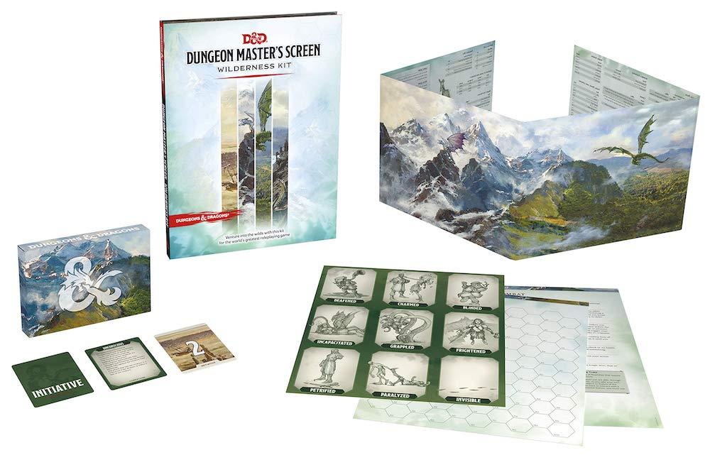 Dungeon Master Screen Wilderness Kit