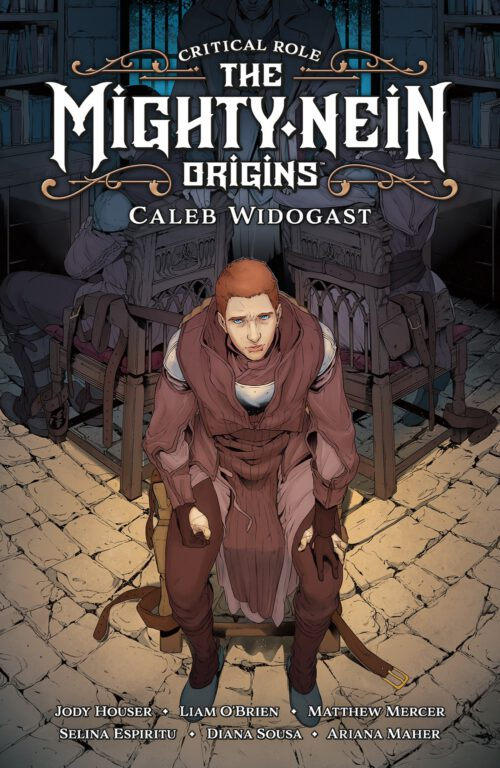 Cover art for Caleb's graphic novel from Critical Role.