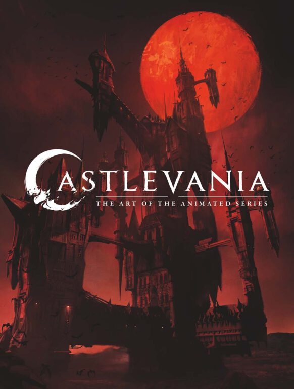 Cover for Castlevania: The Art of the Animated Series
