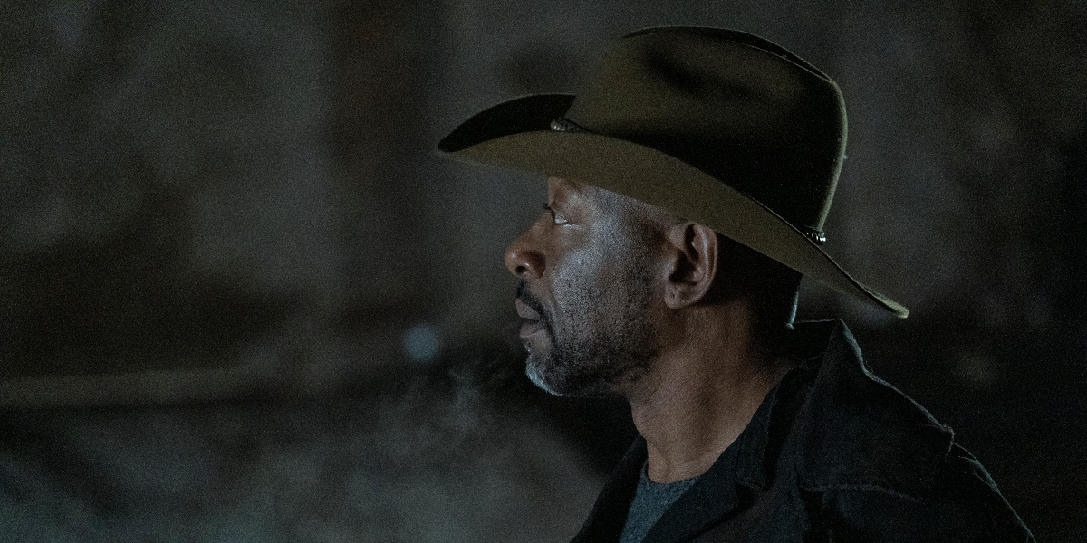 Morgan tries to find a peaceful way to deal with Ginny on Fear the Walking Dead