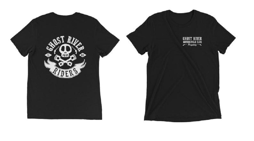 Ghot River Riders t-shirts inspired by Wynonna Earp. Sold on Etsy.