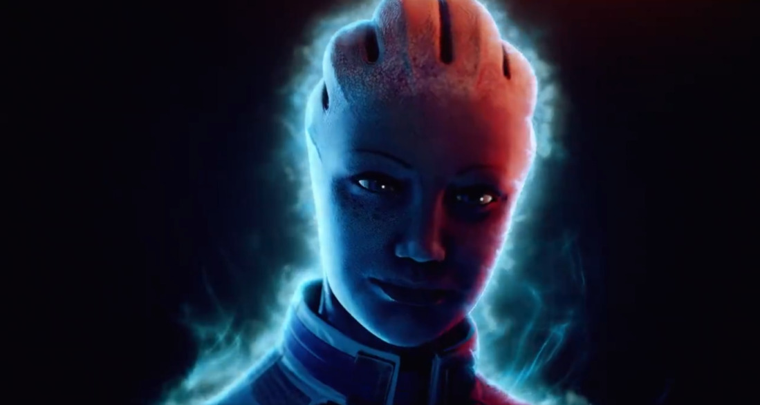 Liara T'Soni in Mass Effect: Legendary Edition