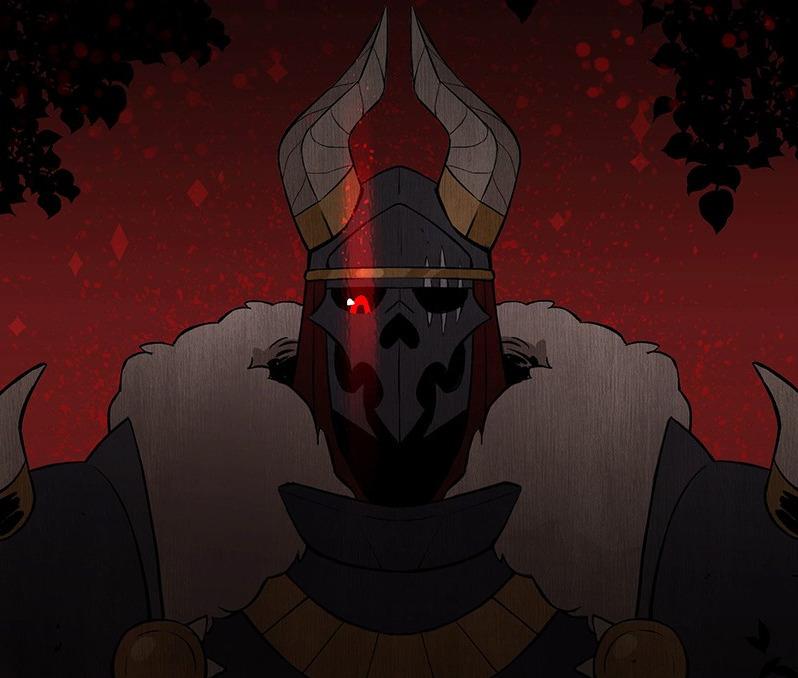 Modeus in Suitor Armor.