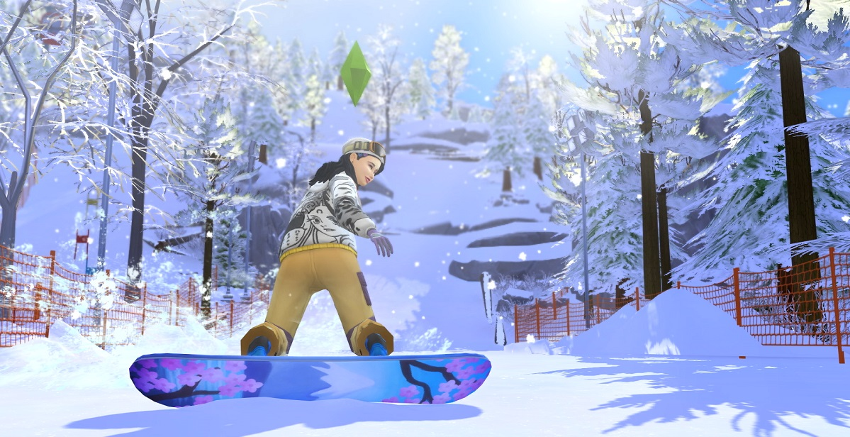 The New THE SIMS 4 DLC Is a Snowy Escape Into a Diverse Reality