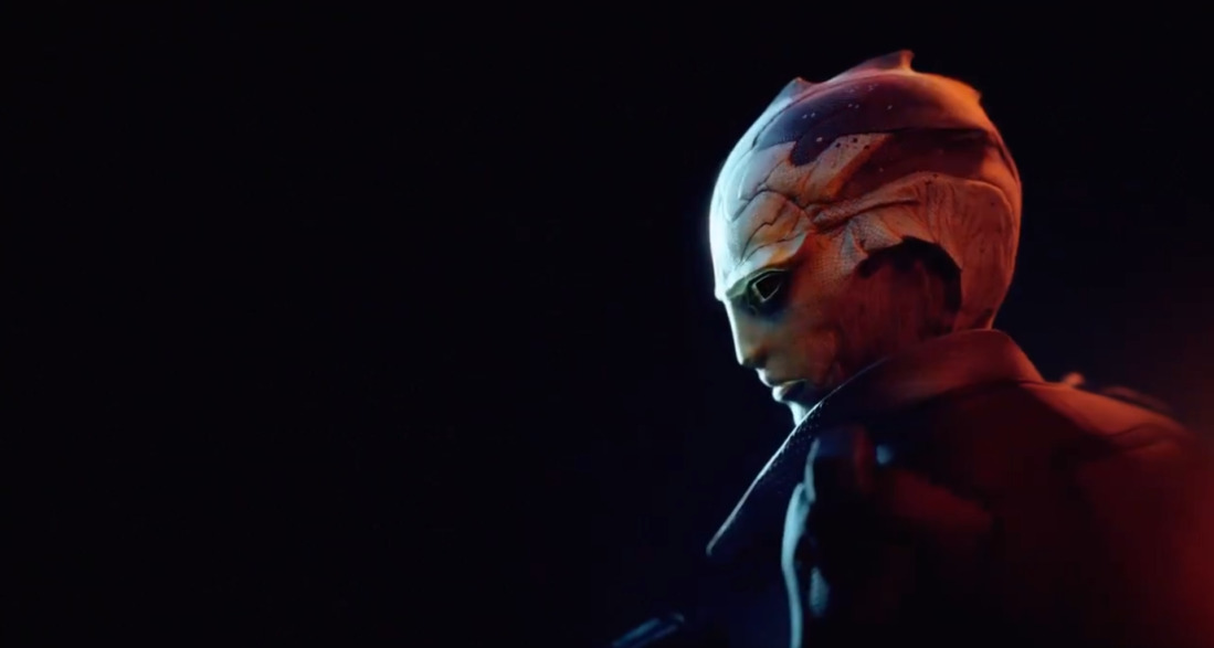 Thane Krios in Mass Effect: Legendary Edition