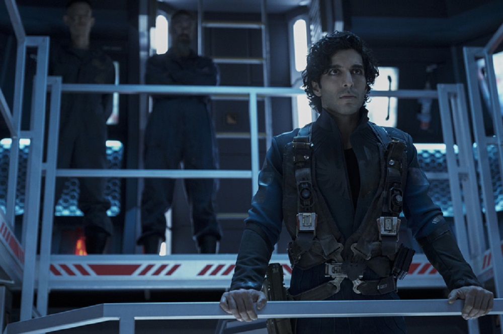 Still of Keon Alexander as Marco Inaros in The Expanse. Photo courtesy of Amazon Studios.
