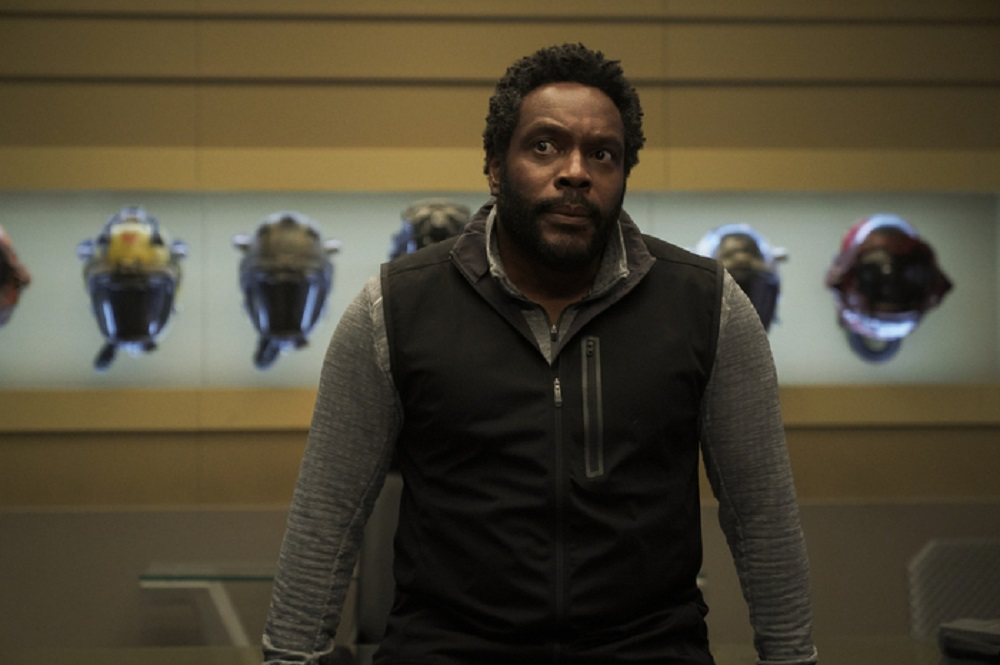 Still of Chad L. Coleman as Fred Johnson in The Expanse. Photo courtesy of Amazon Studios.