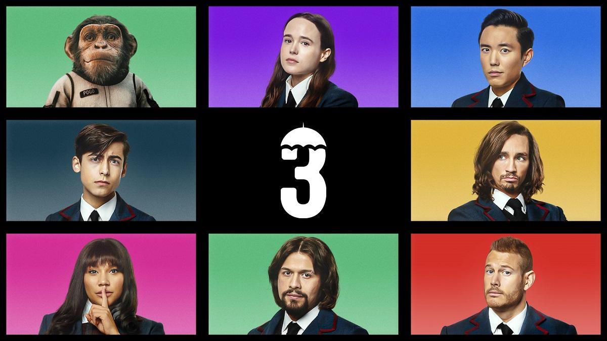The Umbrella Academy profile icon photos for Netflix.