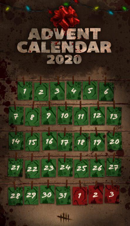 Dead by Daylight Advent Calendar