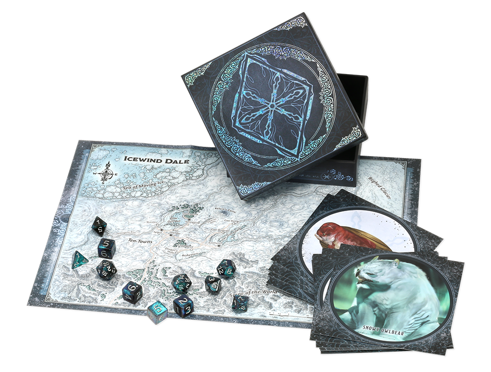 Dice set for Icewind Dale: Rime of the Frostmaiden.