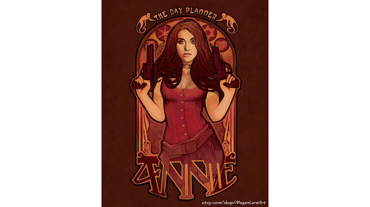 Print featuring Annie from Community. Sold on Redbubble.