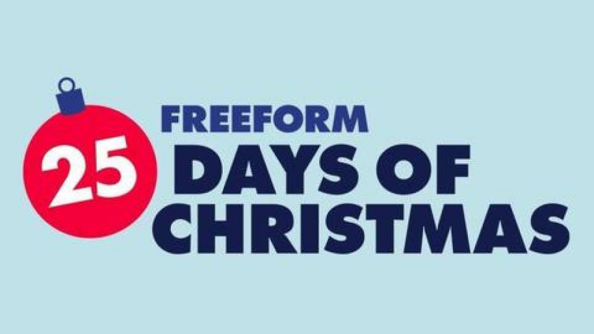 Freeform's 25 DAYS OF CHRISTMAS Sets Schedule