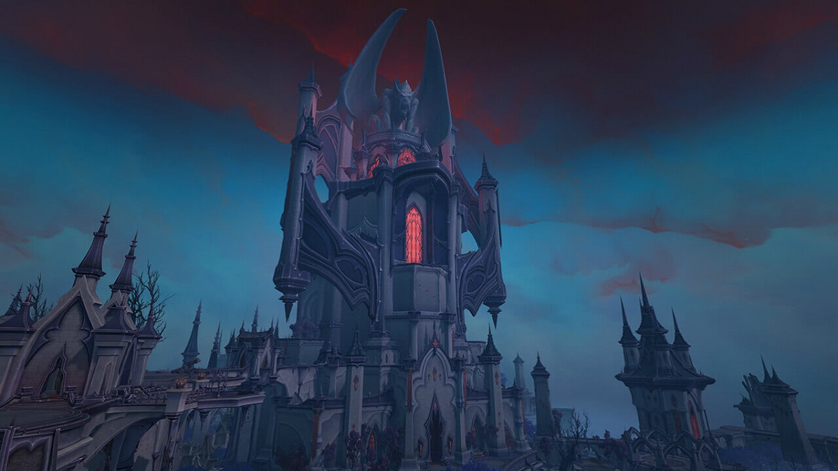 Castle Nathria in World of Warcraft: Shadowlands.
