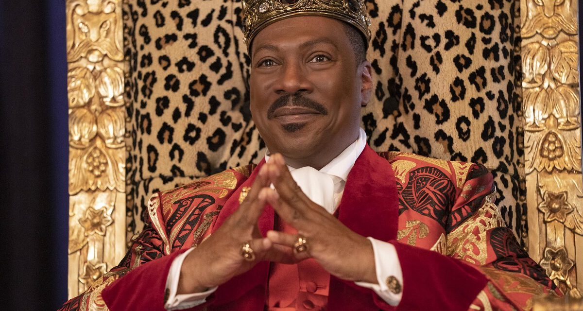 COMING 2 AMERICA Trailer Reveals Many Faces of Eddie Murphy and Arsenio Hall