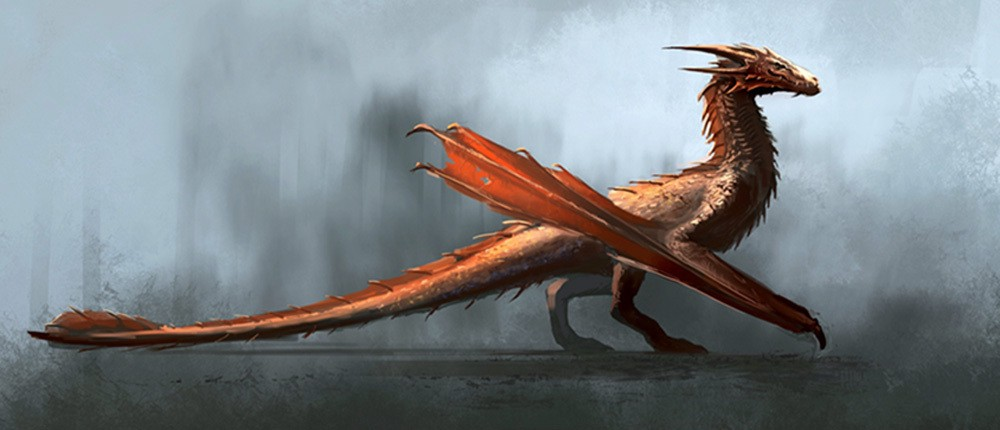 Concept art for HBO's House of the Dragon.