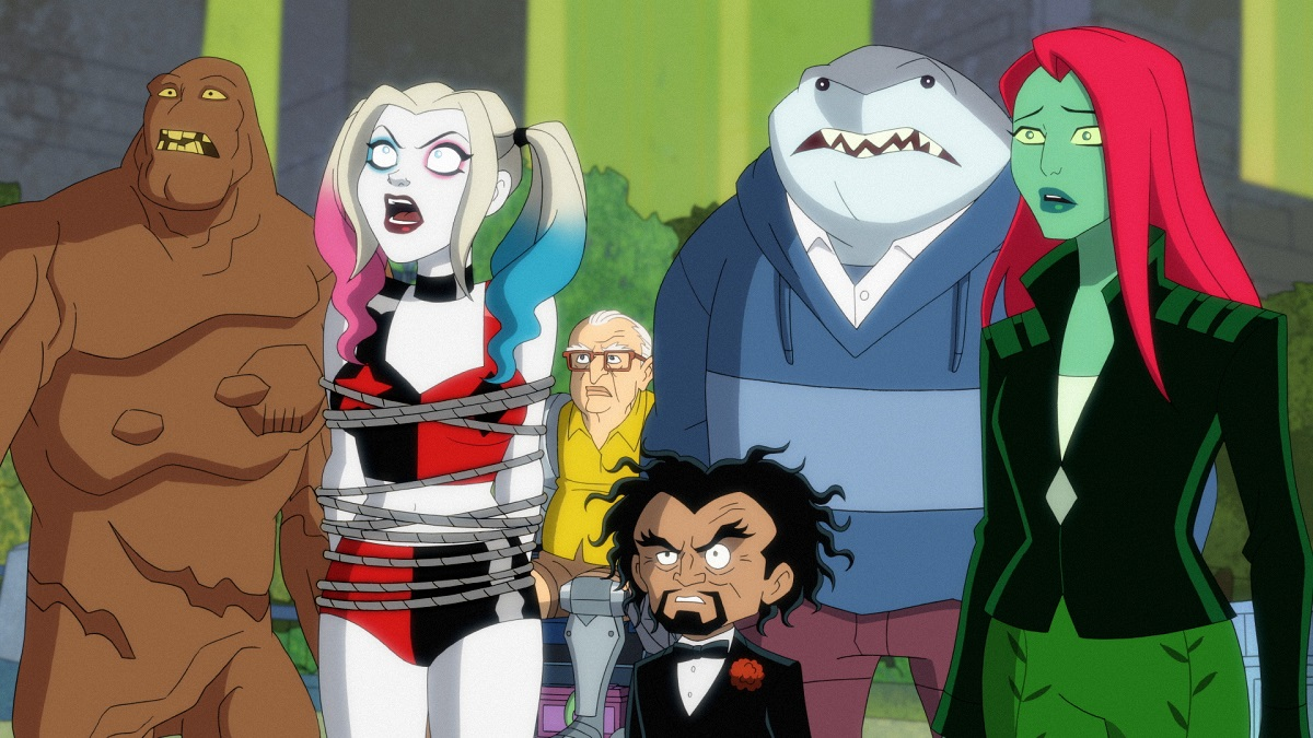 Still from DC animated series Harley Quinn.