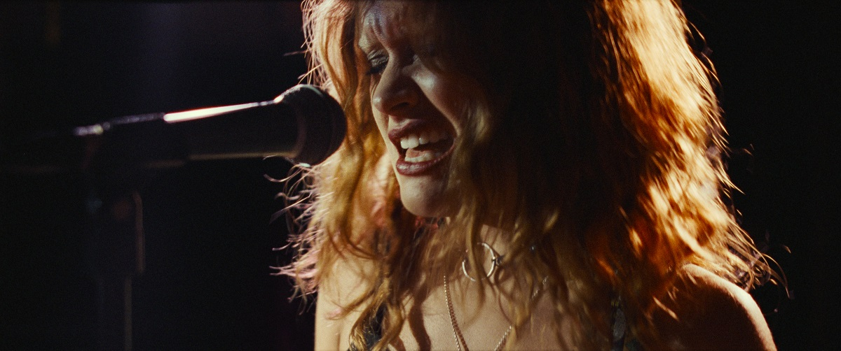 Still of Olivia Cookie as Lou in Amazon's Sound of Metal.
