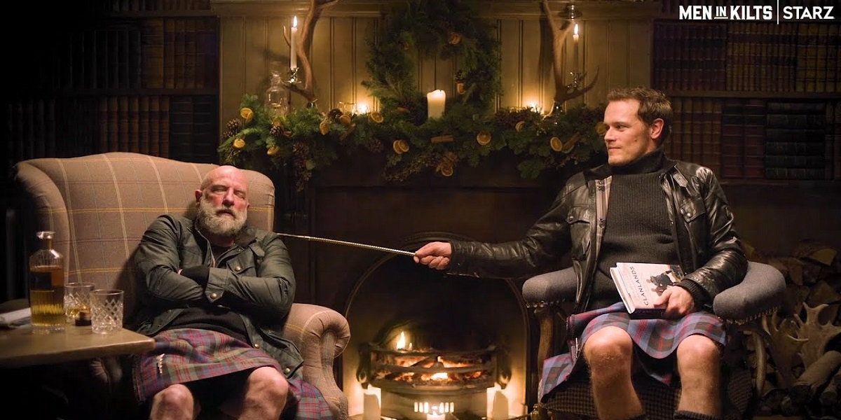 Cozy Up with the MEN IN KILTS Yule Log