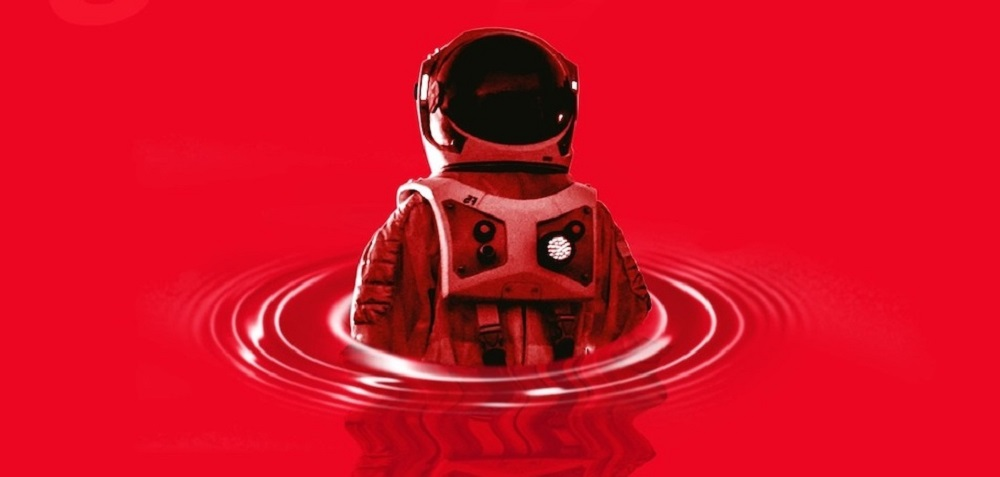 """Astronaut on cover of Providence,"""" by Max Barry, one of the underrated books of 2020."""