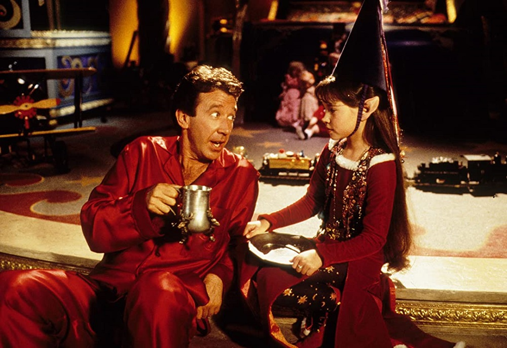Still of Tim Allen in The Santa Clause, which will air during Freeform's 25 Days of Christmas event.