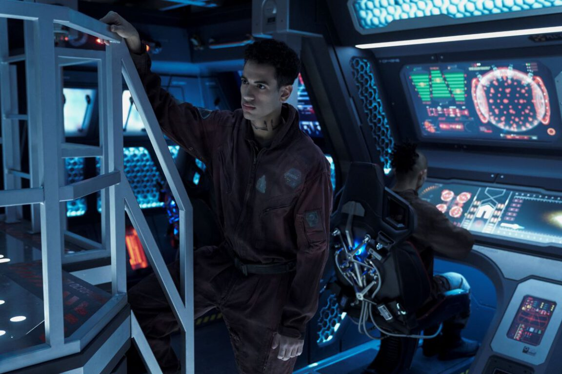 Still of Jasai Chase Owens in The Expanse.