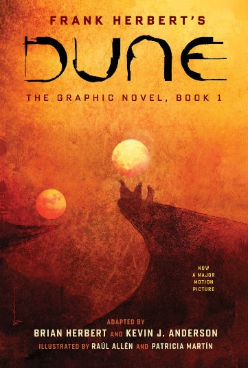 Cover art for Dune: The Graphic Novel