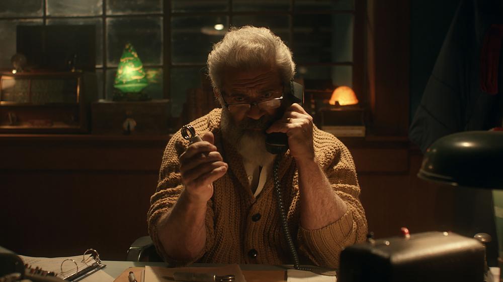 Mel Gibson in Fatman