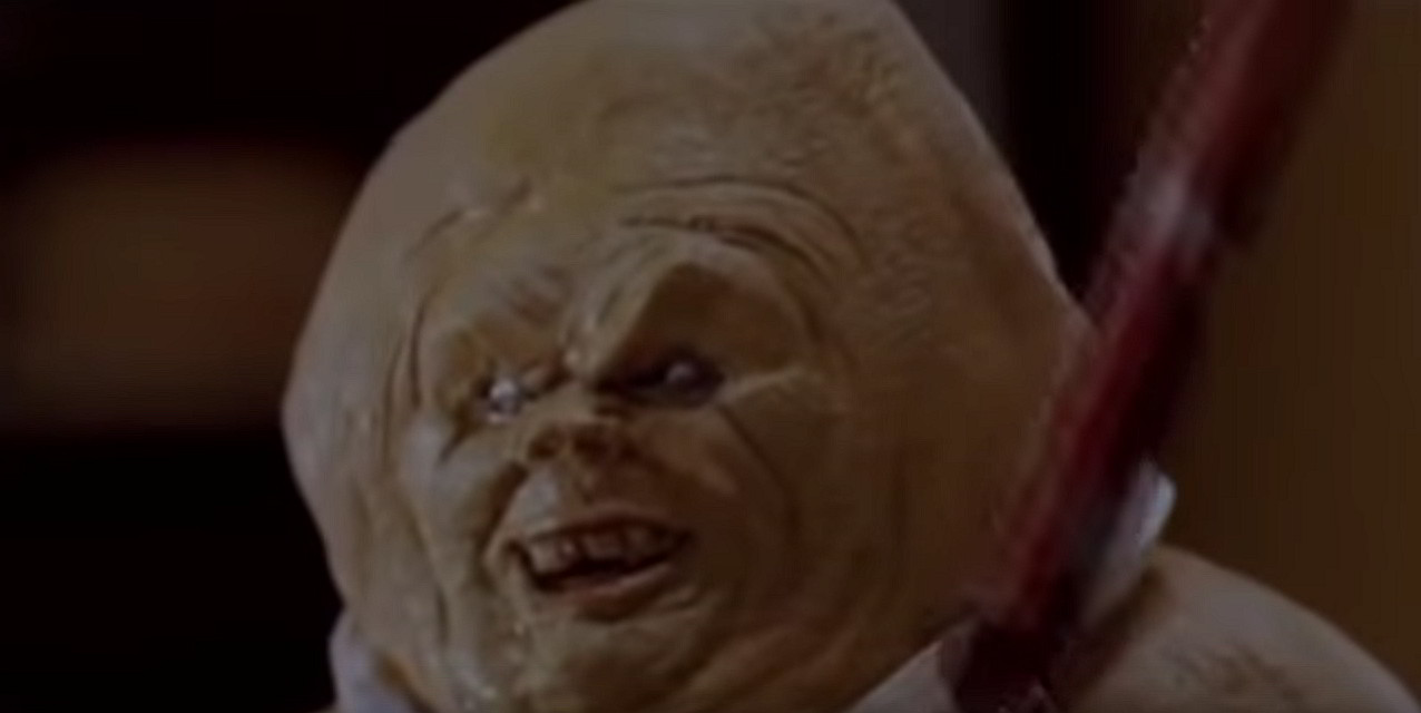 Still from Gingerdead Man. One of the worst Christmas horror movies.