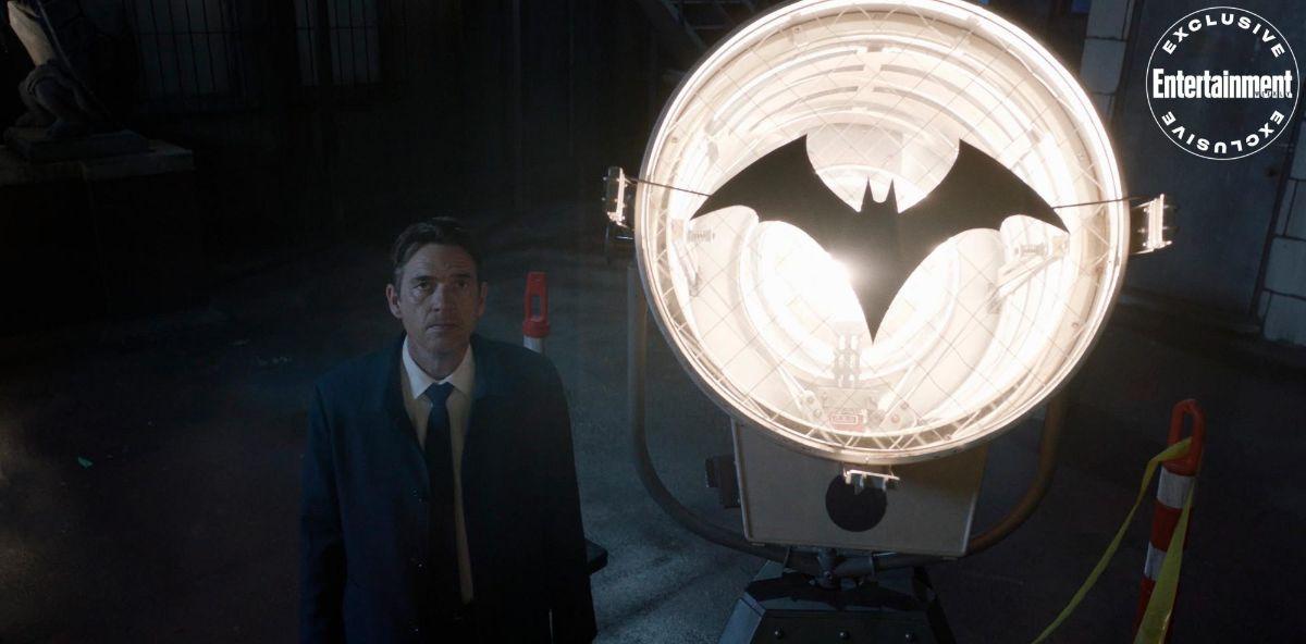 Jacob surprisingly uses the Batsignal