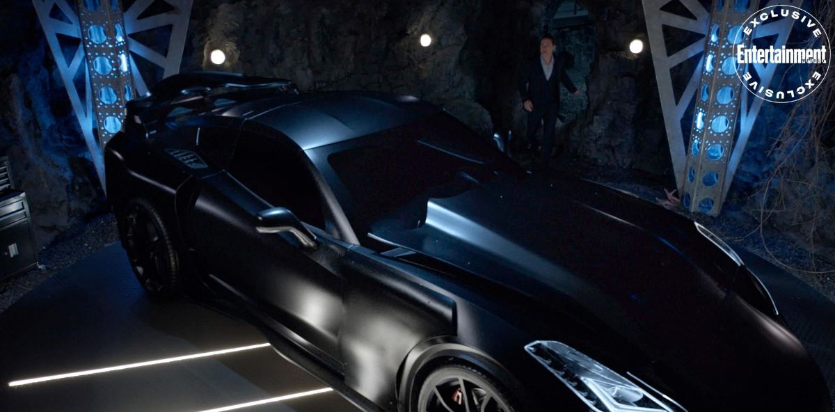 The Batmobile is featured in Batwoman season 2