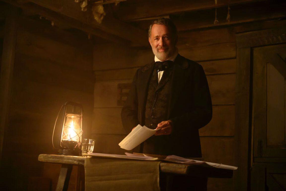 Tom Hanks stars in News of the World