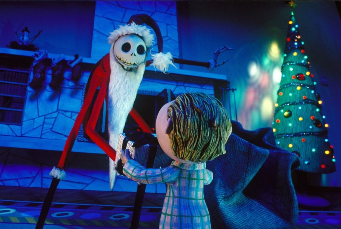 Still from Tim Burton's The Nightmare Before Christmas, which will air during Freeform's 25 Days of Christmas.