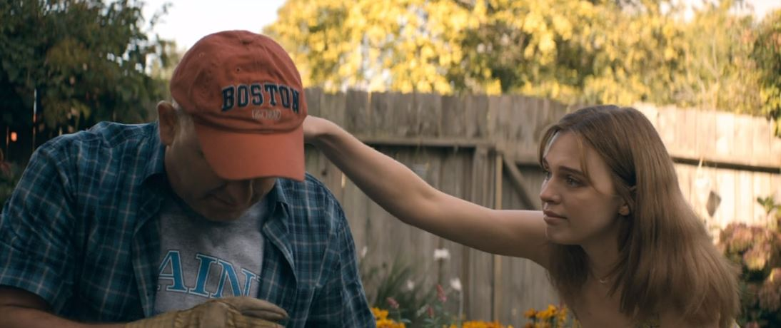 Cameron McDonald, Odessa Young in The Stand