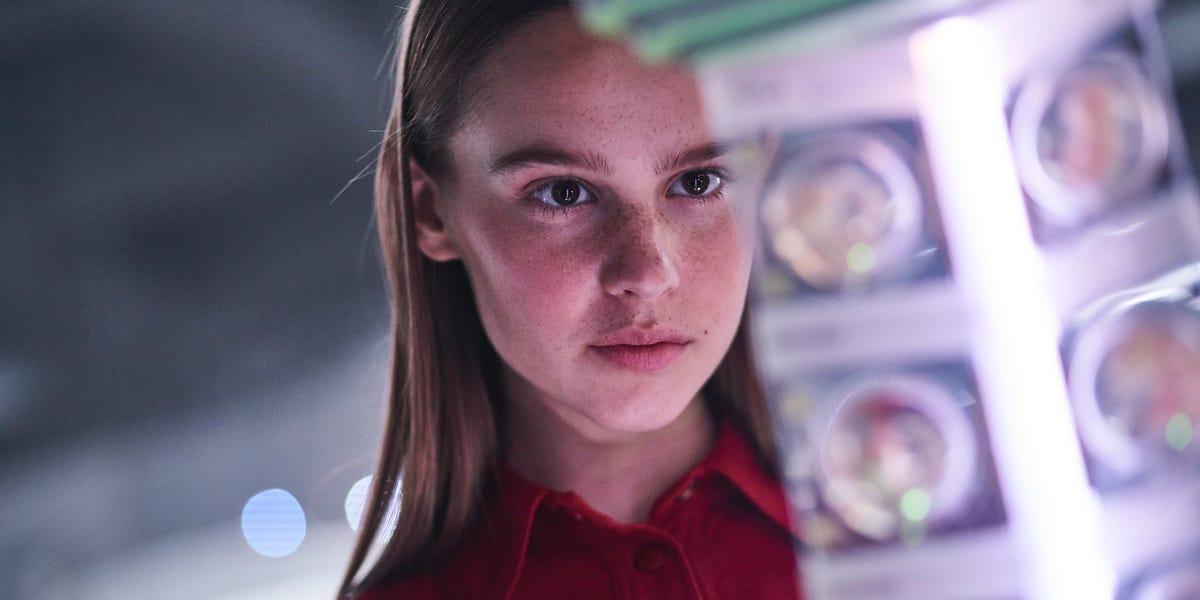 Still of Clara Rugaard as Daughter in Netflix's I Am Mother.