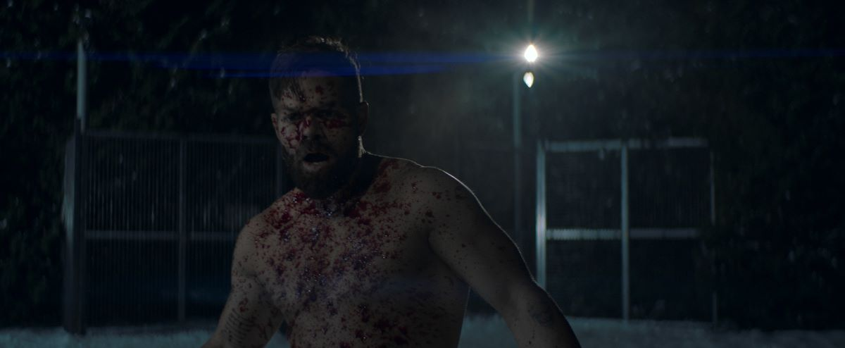 Still of Wes Chatham in The Expanse.