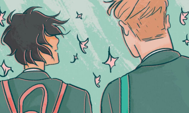 The Graphic Novel HEARTSTOPPER Has a Series Coming to Netflix