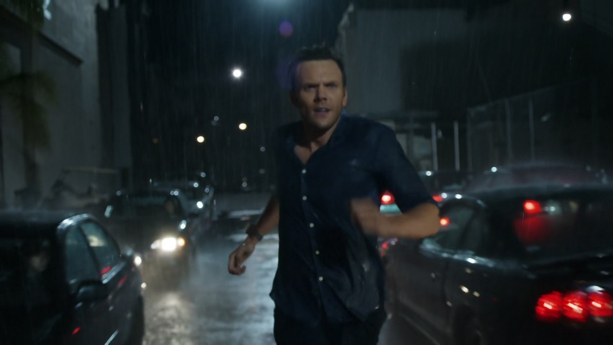 "Still of Joel McHale as Jeff in Community episode ""Asian Population Studies."""
