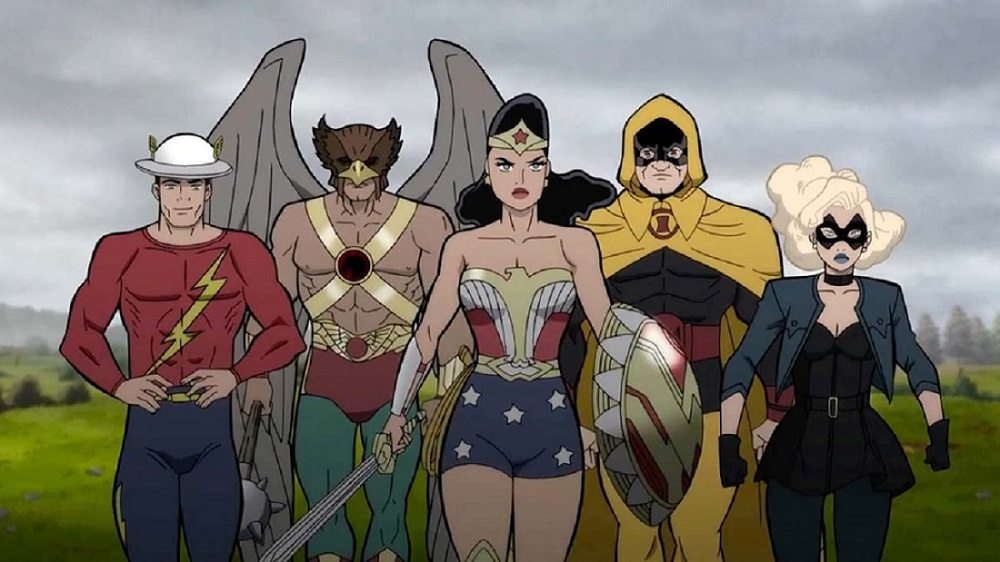 DC's JUSTICE SOCIETY: WORLD WAR II Solidifies Superhero Cast