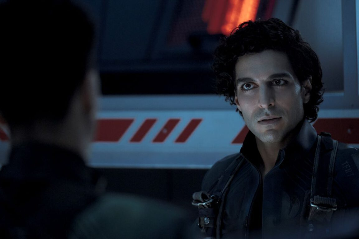Still of Keon Alexander as Marco Inaros in The Expanse.