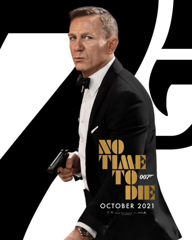 No Time To Die updated poster with October Release Date
