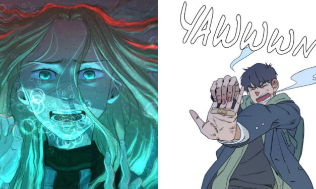 Saturday Morning Webtoons: IN THE BLEAK MIDWINTER; and PARALLEL CITY