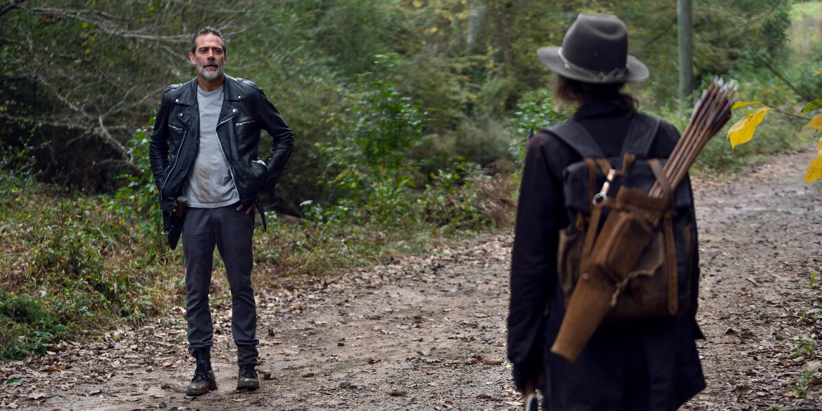 Negan faces Maggie again on The Walking Dead.