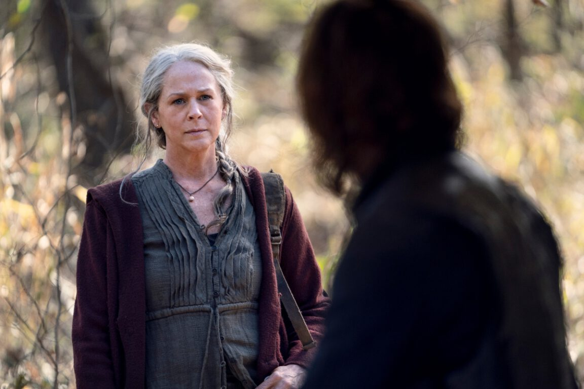 Carol and Daryl still have some things to work out on the extended episodes of The Walking Dead