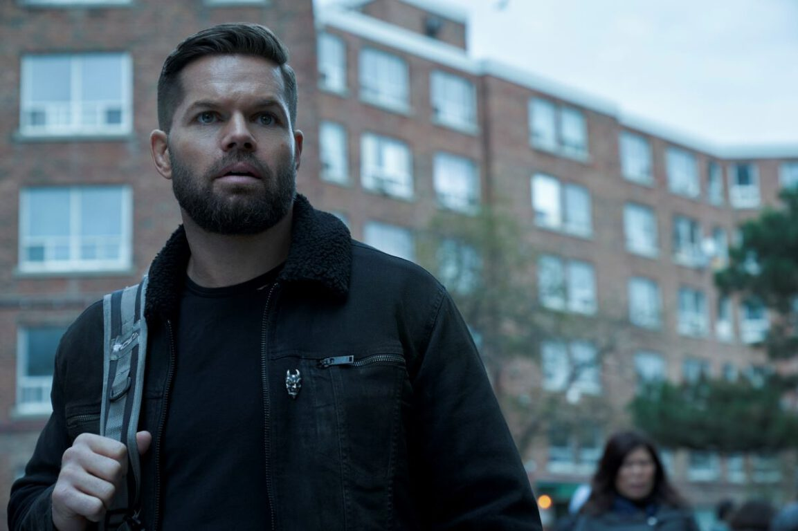 Still of Wes Chatham as Amos Burton in The Expanse. Photo courtesy of Amazon Studios.